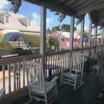 The view of Duval Street from our Grand Balcony.