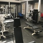 Our 24-hour fitness center.