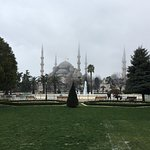 The Blue Mosque, Hagia Sophia Museum and Chora church museum of Istanbul.