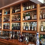 Well-stocked bar including lots of Scotch!