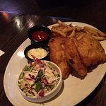 I.P.A. BEER BA TTERED FISH & CHIPS