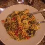 Seafood Paella (disappointing)
