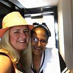 Martha, our wonderful housekeeper!