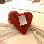 Sweet notes from Martha, housekeeping.