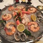 Shamefully skimpy seafood platter
