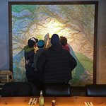 guests enjoying our backcountry map