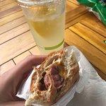 Polish, spicy, no relish, Hawaiian mustard 🤙🏼