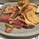 Jambon with pickles