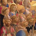 """Paradise"" detail, 1431-35. Gallerie degli Uffizi, Florence"