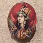 Miniature portrait of Mumtaz Mahal, 19th century