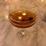 """bourbon drink """"Blind pig"""" featuring Four Roses Small Batch"""