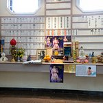 A memorial to Anita Mui in Po Lin Monastery