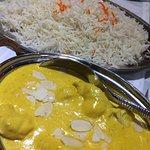 Riz basmati poulet rajput (au curry)
