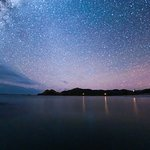 Stars shine brightly in Tryphena, Great Barrier Island ((photo: Mark Russell)