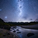 The Milky Way over Medlands Beach, Great Barrier Island (photo: Mark Russell)