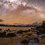 Milky Way and fosforescence form a startling image (photo: Mark Russell)