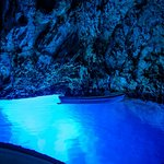 In the Blue Cave
