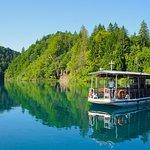 Boat ride in Plitvice Lakes NP
