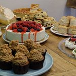 HOMEMADE CAKES MADE ON THE PREMISES