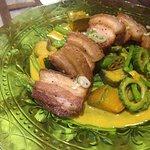 Pork in vegetables