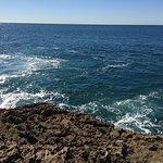 Atlantic sea up close