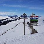 Février 2018 en haut du Semnoz 1750m