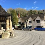 Stunning village viewed on a cold late Winter day. The White Hart offered warm and welcome retre