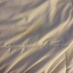 Strange stain on bed clothes #2