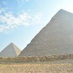 Photo of Khafre, the second pyramid