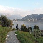 Villa Carlotta Garten Sicht auf den See 3