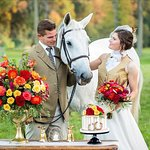 Equestrian Themed Wedding Display