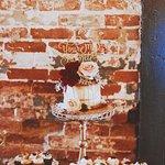 Elegant Bohemian Wedding Dessert Display