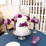Light and Bright Classic Wedding Cake Display