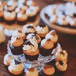 Mini Cupcake on Wedding Display