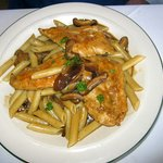 Chicken Marsala with Penne Pasta