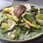 Salade gegrilde tonijn