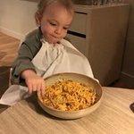 Voor jong en oud, heerlijk haar bordje leeg eten