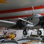 Ju 52 in den Ausstellunghallen