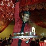 Original Marokkanische Teezermonie