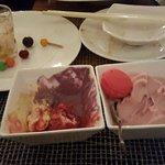 ice cream and yogurt