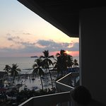 Great sunset from our balcony!