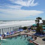 Oceanfront Heated Pool, 60-Ft. Waterslide & Kiddie Pool