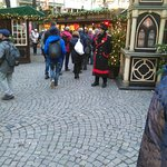 Christmas Market only 2 mins away.
