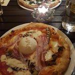 Pizza Bella Napoli and Pizza Salsiccia e Friarelli