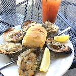 good charred oysters!