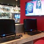 PC y TV en planata baja