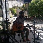 Live music every Sunday during the summer months, Mangaweka New Zealand