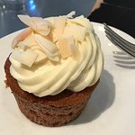 Carrot Cake cupcake at Ad Hoc in Yountville.