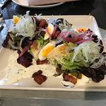 Beautiful spring salad at Ad Hoc in Yountville.