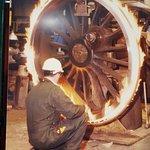 Installing steel 'tire' on wheel